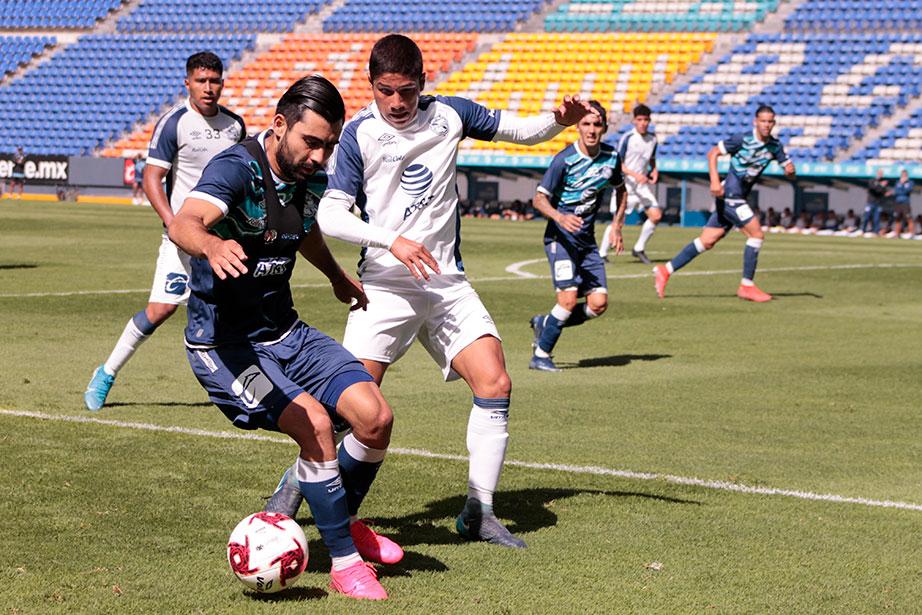 Club Puebla empata con la sub 20
