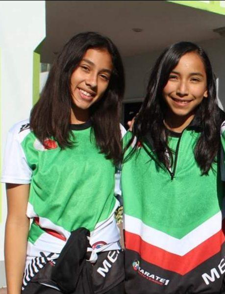 Karatecas de Fundación Club Alpha en entrenamientos de selección juvenil